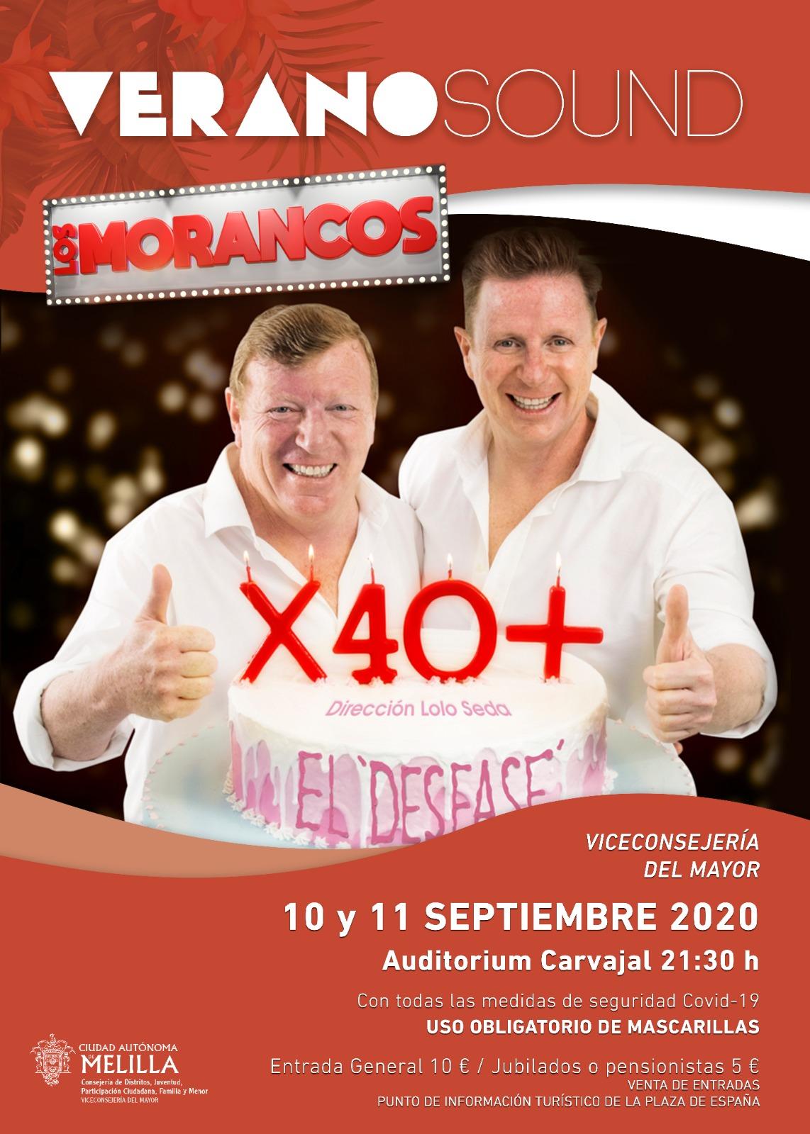 Los Morancos Visitan Melilla Con Su Espectáculo X 40 Popular Tv Melilla